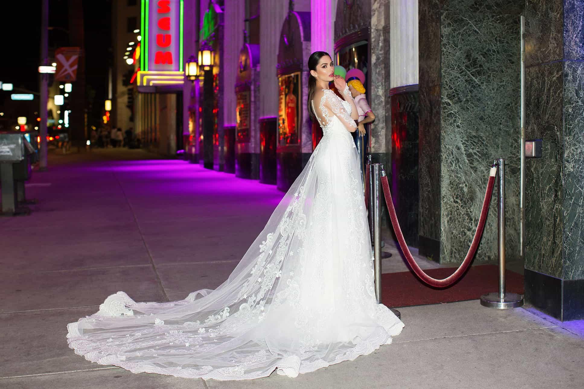 Pollardi 31112   Prinzessinnen Brautkleid Meerjungfrau   Hochzeitskleid A-Linie   Brautmode Köln Anna Moda
