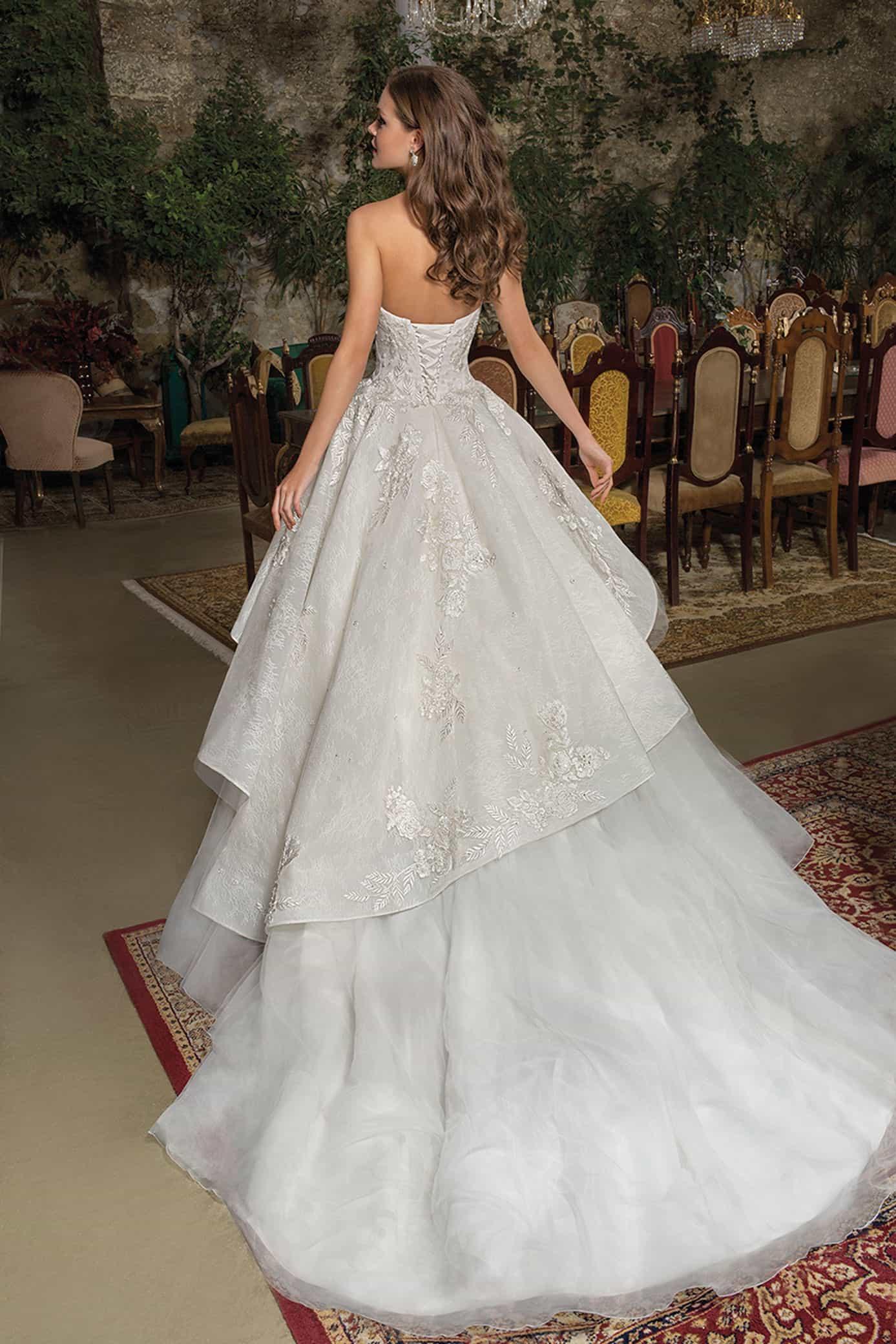 Cosmobella 7928   Prinzessinnen Brautkleid   Hochzeitskleid A-Linie   Brautmode Köln