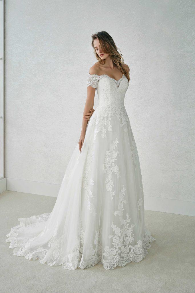 Brautmode White One   Brautkleid Fabiana