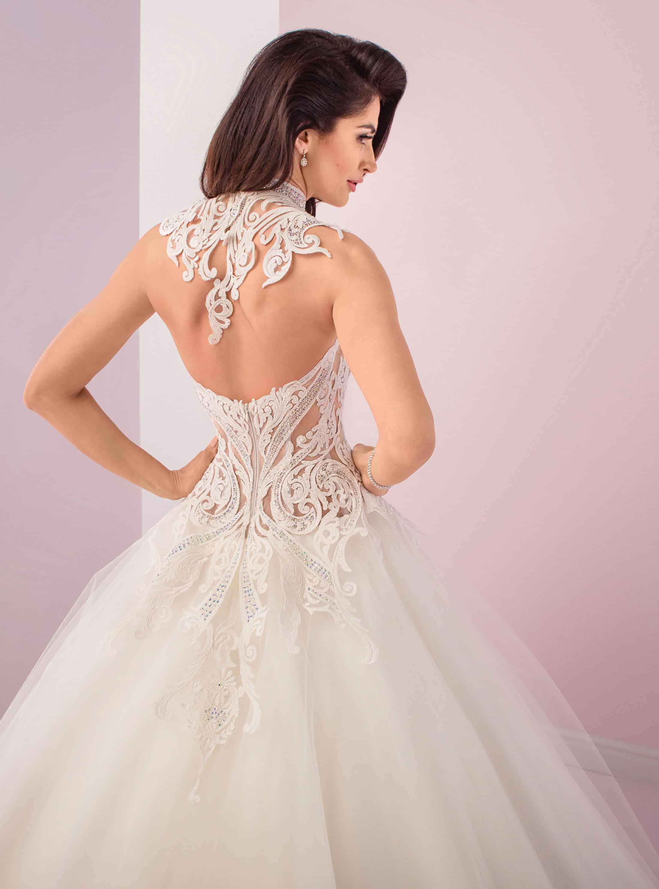 Agora 19-13 | Prinzessinnen Brautkleid | Hochzeitskleid A-Linie | Brautmode Köln Anna Moda