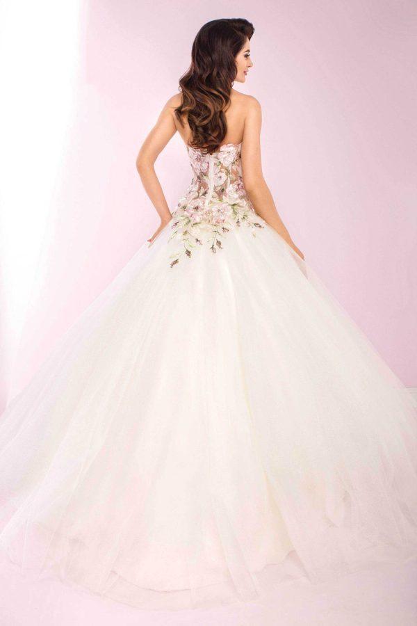 Agora 19-35 | Prinzessinnen Brautkleid | Hochzeitskleid A-Linie | Brautmode Köln Anna Moda