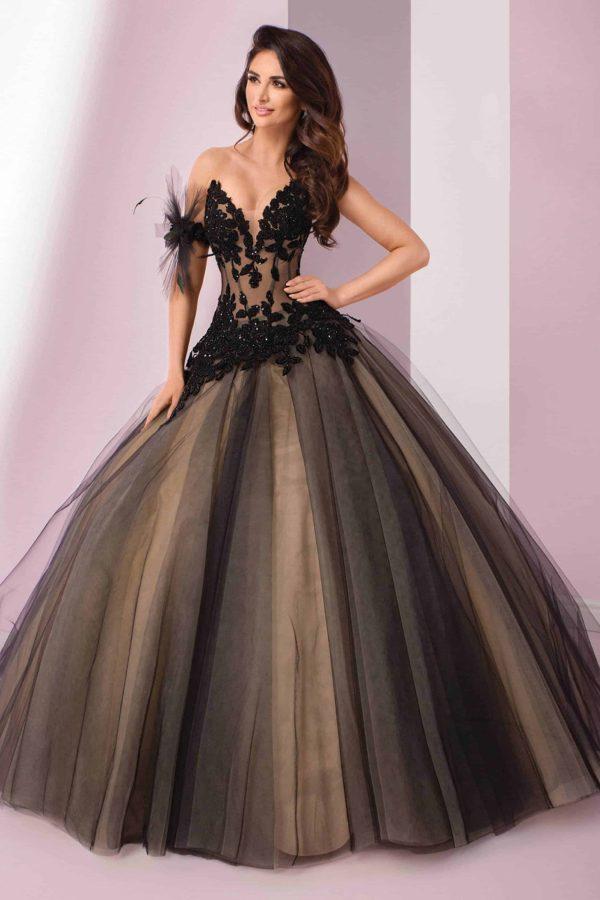 Agora 19-37 | Prinzessinnen Brautkleid | Hochzeitskleid A-Linie | Brautmode Köln Anna Moda