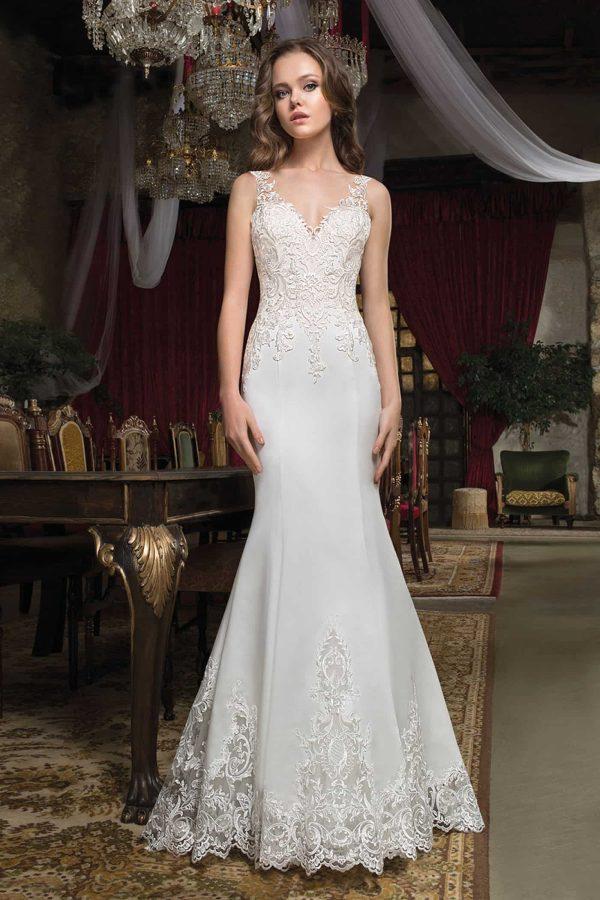 Cosmobella 7943 | Brautkleid Romantisch | Hochzeitskleid Meerjungfrau | Brautmode Köln Anna Moda