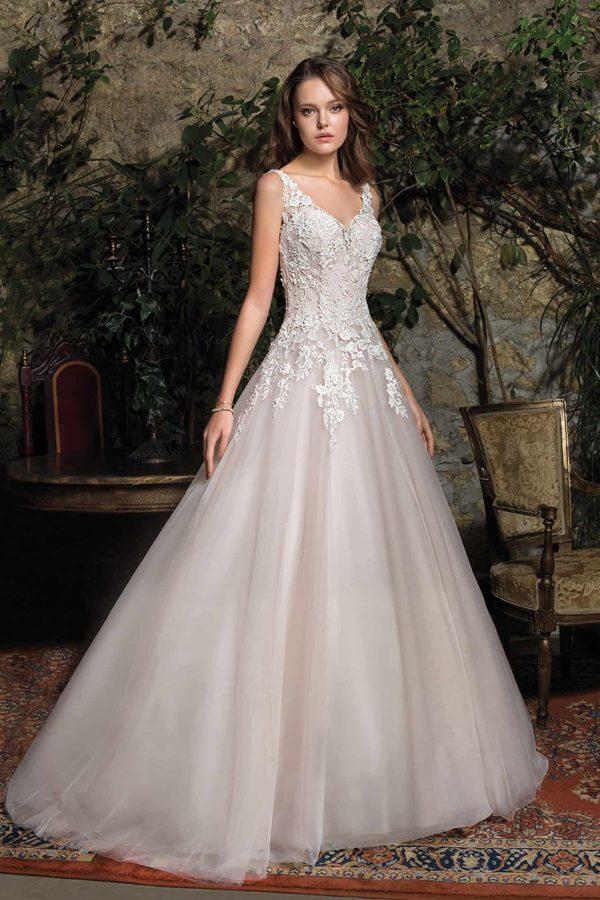 Cosmobella 7957 | Prinzessinnen Brautkleid | Hochzeitskleid A-Linie | Brautmode Köln Anna Moda