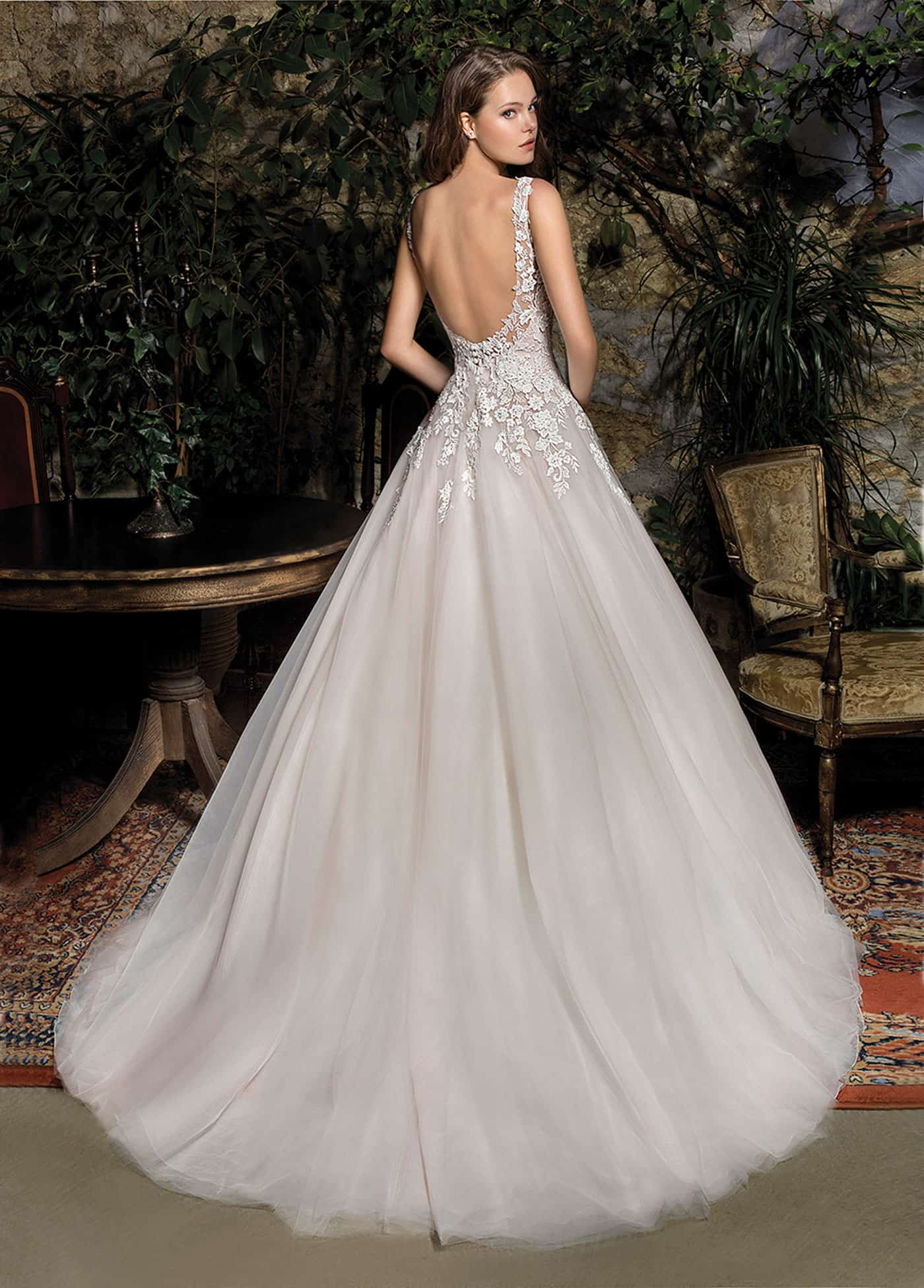Cosmobella 7957   Prinzessinnen Brautkleid   Hochzeitskleid A-Linie   Brautmode Köln Anna Moda