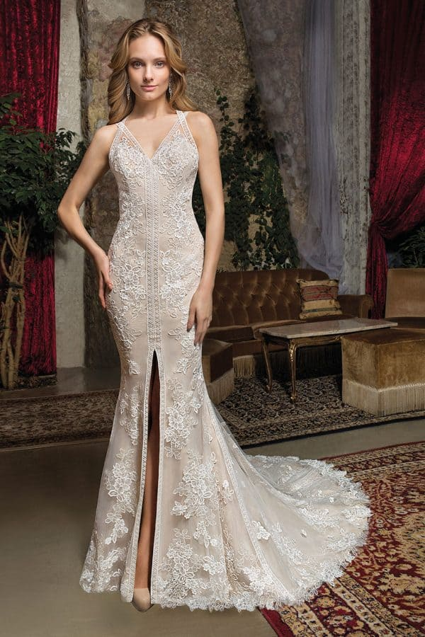 Cosmobella 7971 | Vintage Brautkleid | Hochzeitskleid Meerjungfrau | Brautmode Köln Anna Moda