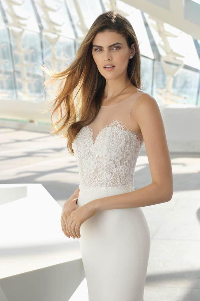Brautmode Rosa Clara | Brautkleid Daisy