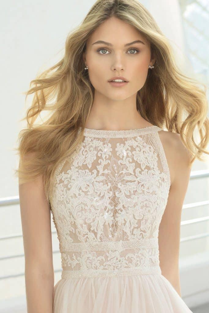 Brautmode Rosa Clara | Brautkleid Domit
