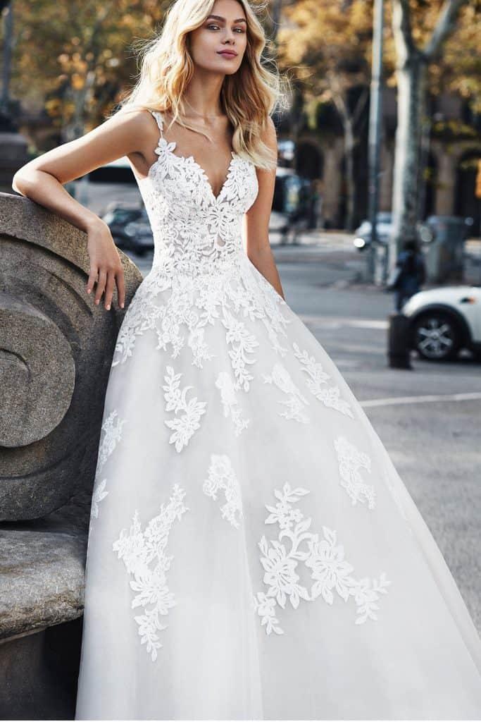 Brautmode Luna Novias | Brautkleid Verti