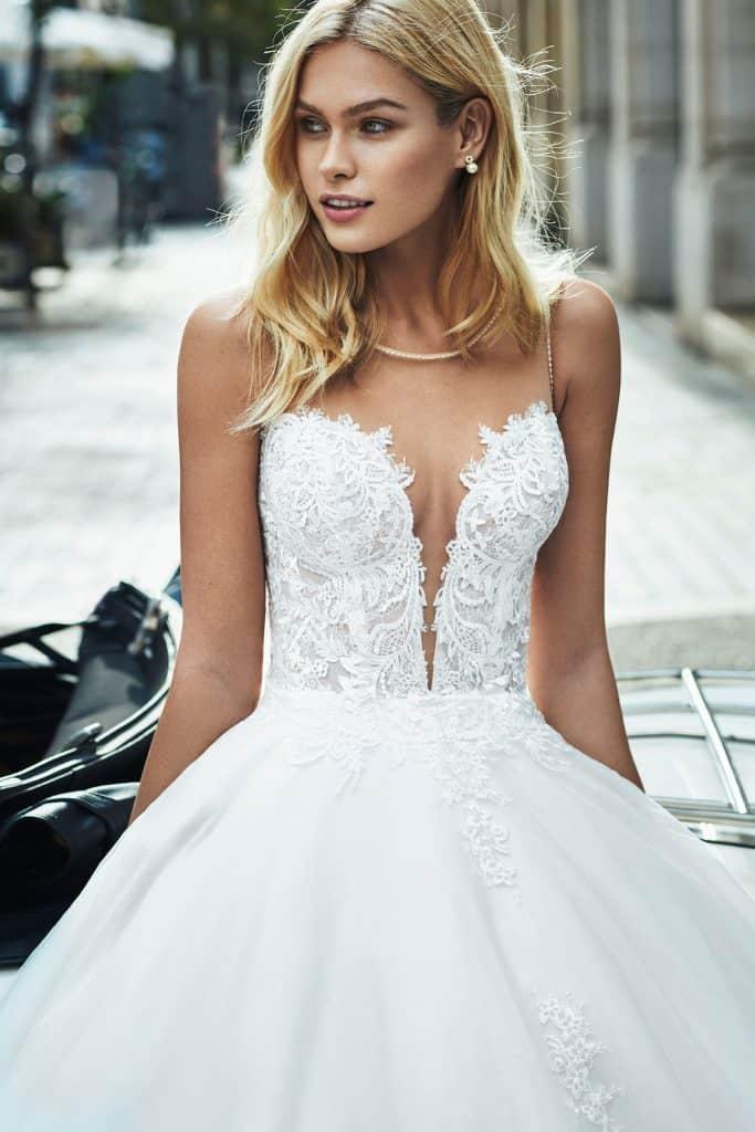 Brautmode Luna Novias | Brautkleid Vichy