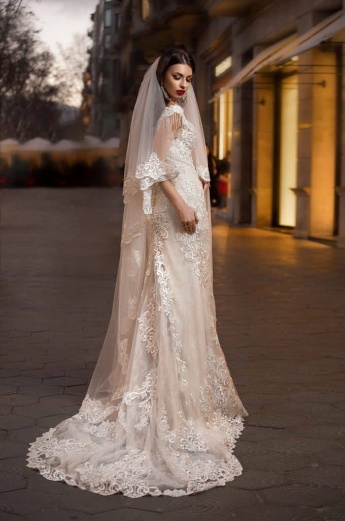 Brautmode Polardi | Brautkleid 3144