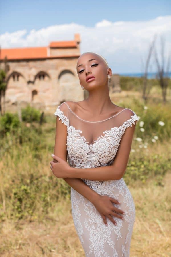 Pollardi Begonia | Vintage Brautkleid | Hochzeitskleid Meerjungfrau | Brautmode Anna Moda Köln