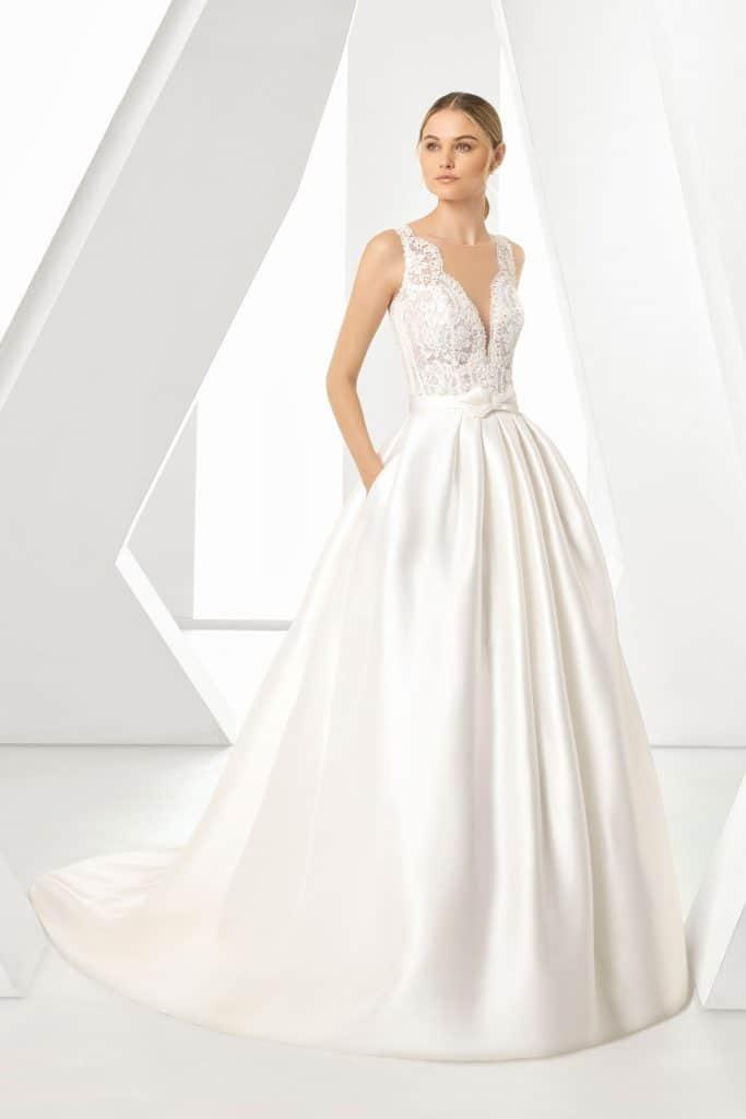 Brautmode Rosa Clara | Brautkleid Dorano