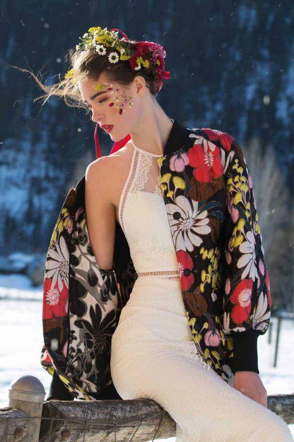 Watters Willowby | Arrow Skirt | Vintage Brautkleid | Hochzeitskleid Zweiteiler | Brautmode Köln