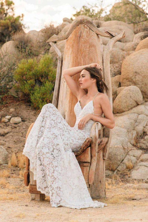 Watters Willowby | Aundin | Vintage Brautkleid | Hochzeitskleid Fit and Flare | Brautmode Köln