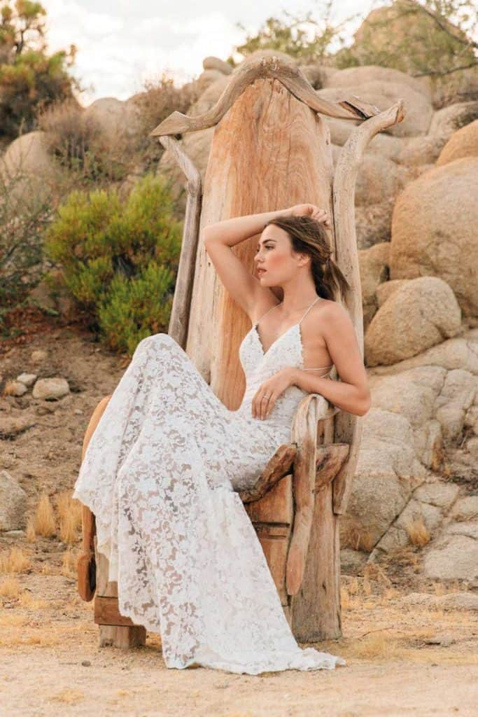 Brautmode Willowby | Brautkleid Audin