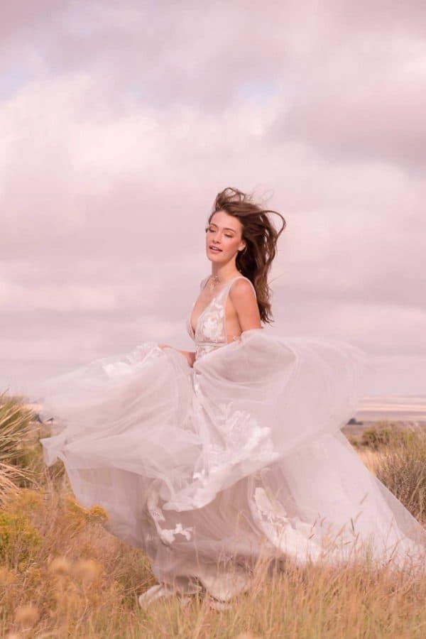 Watters Willowby | Galatea | Vintage Boho Chic Brautkleid | Hochzeitskleid A-Linie | Brautmode Köln