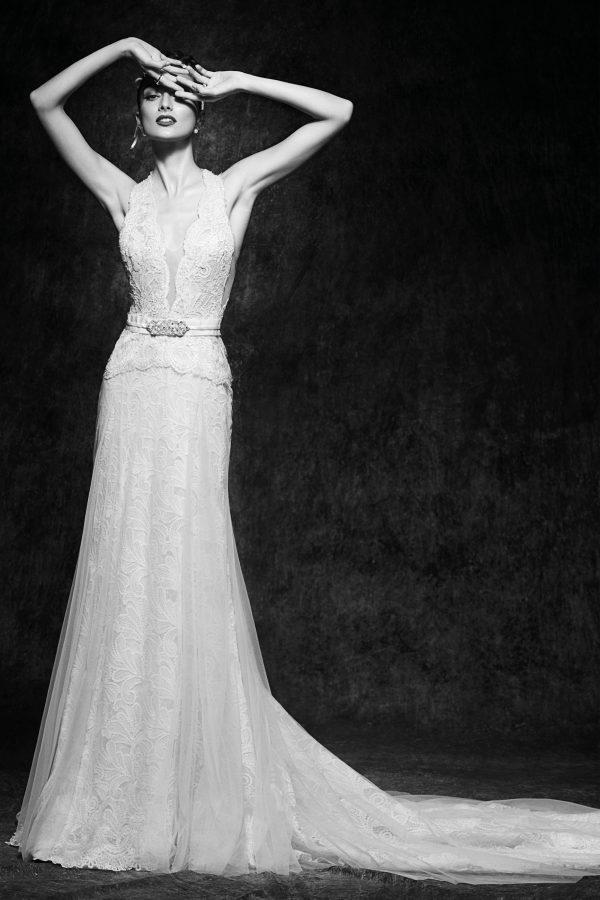 Vesper | Brautkleid Vintage | Hochzeitskleid Fit and Flair | Brautmode Köln Anna Moda