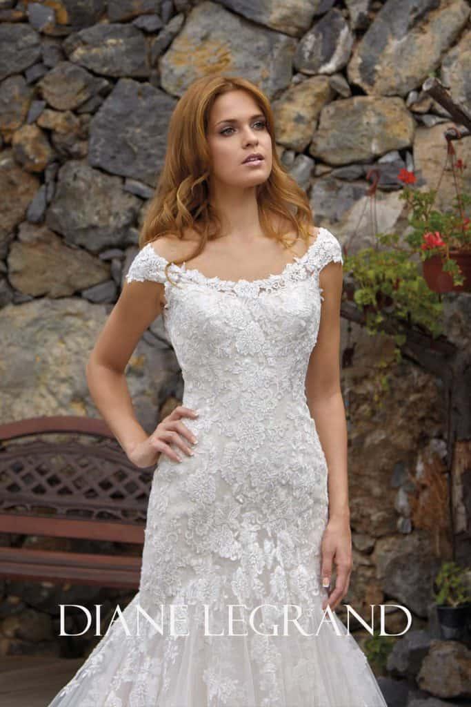 Brautmode Diane Legrand | Brautkleid 7517