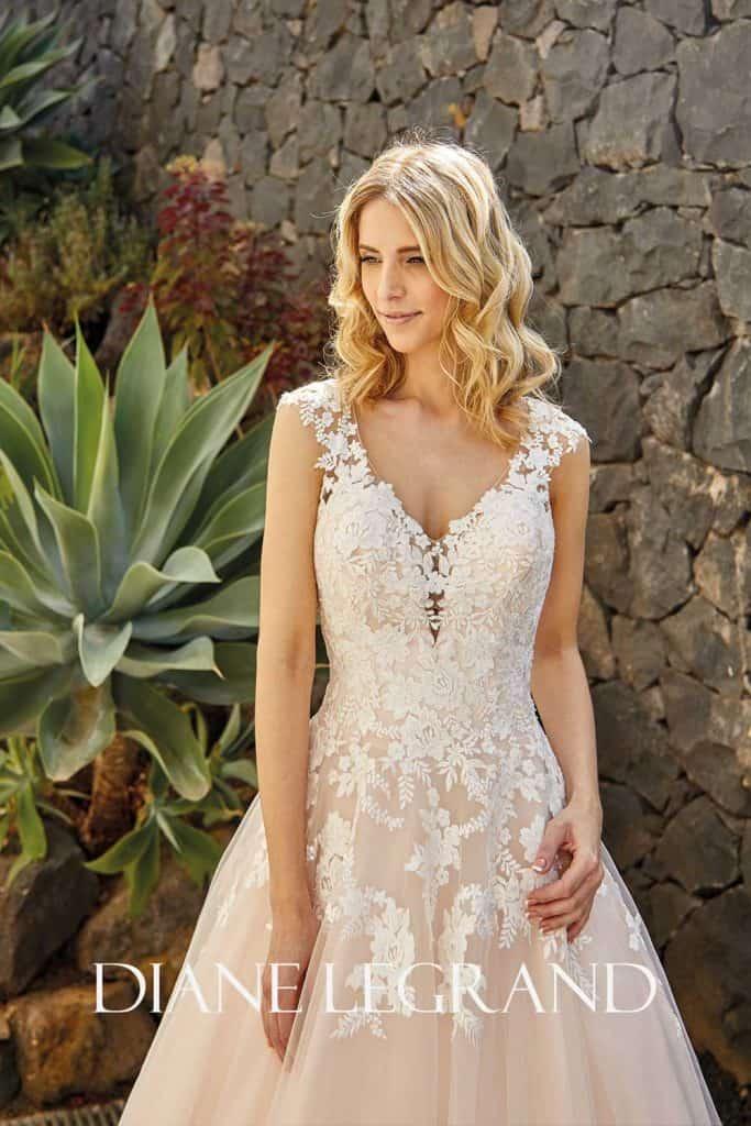 Brautmode Diane Legrand | Brautkleid 7519