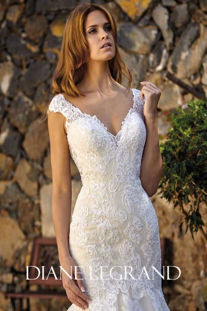 Brautmode Diane Legrand | Brautkleid 7526