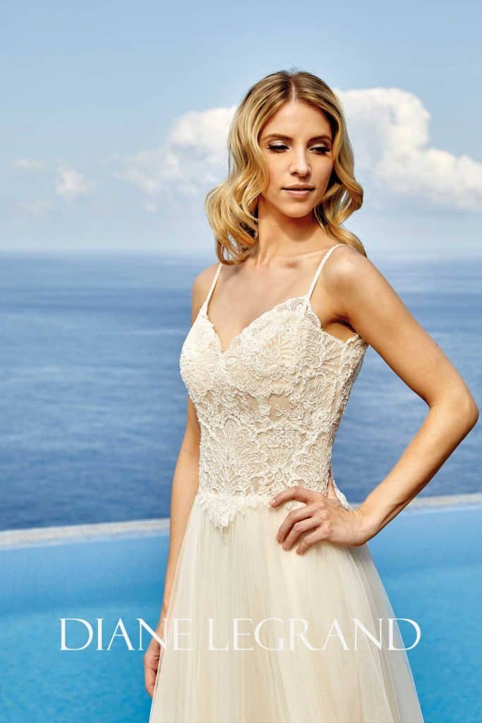 Brautmode Diane Legrand | Brautkleid 7540