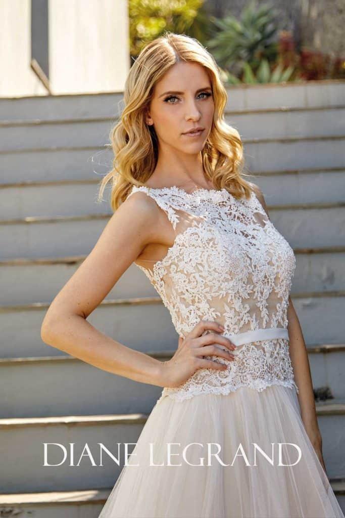 Brautmode Diane Legrand | Brautkleid 7541