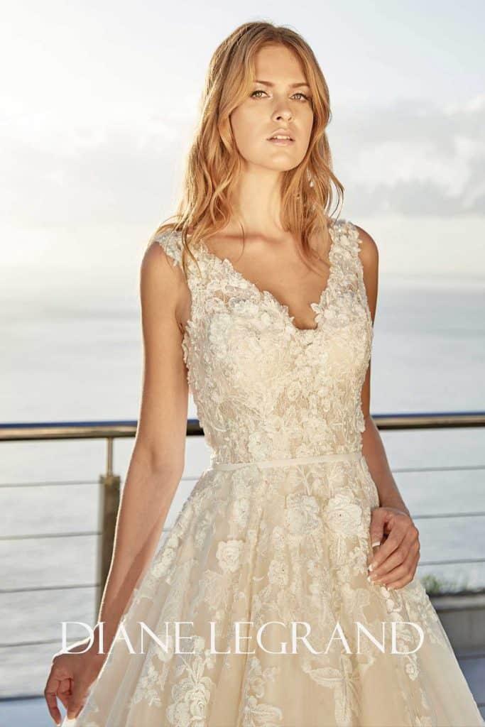 Brautmode Diane Legrand | Brautkleid 7555