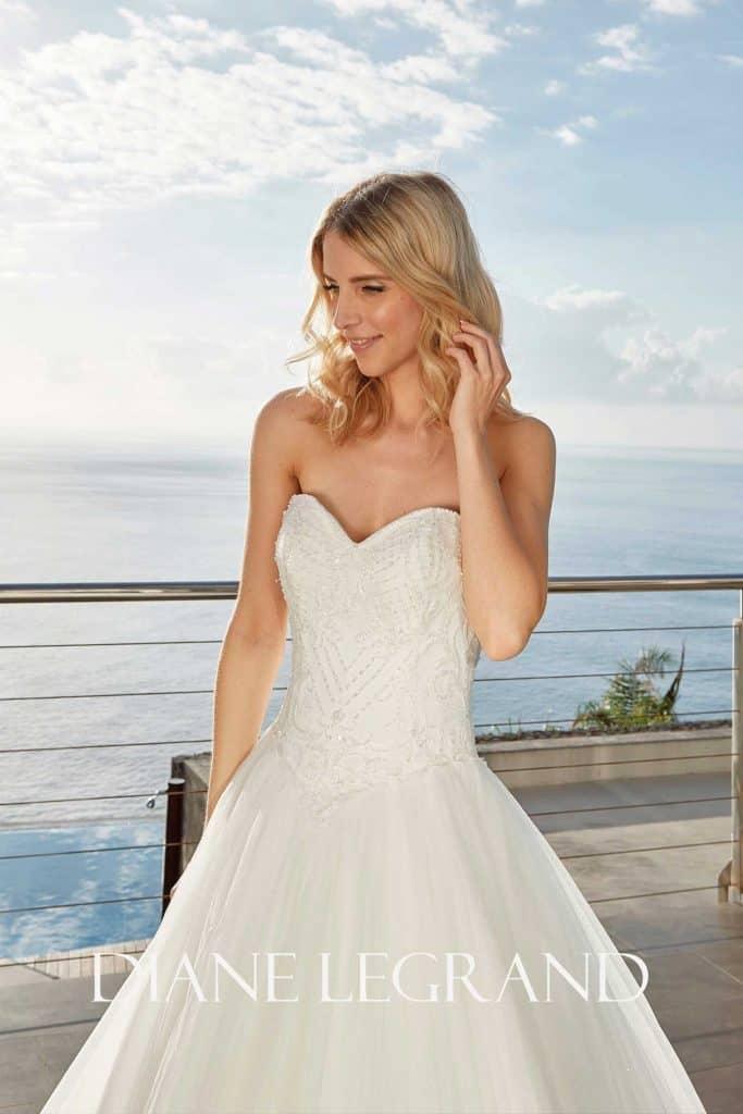 Brautmode Diane Legrand | Brautkleid 7558
