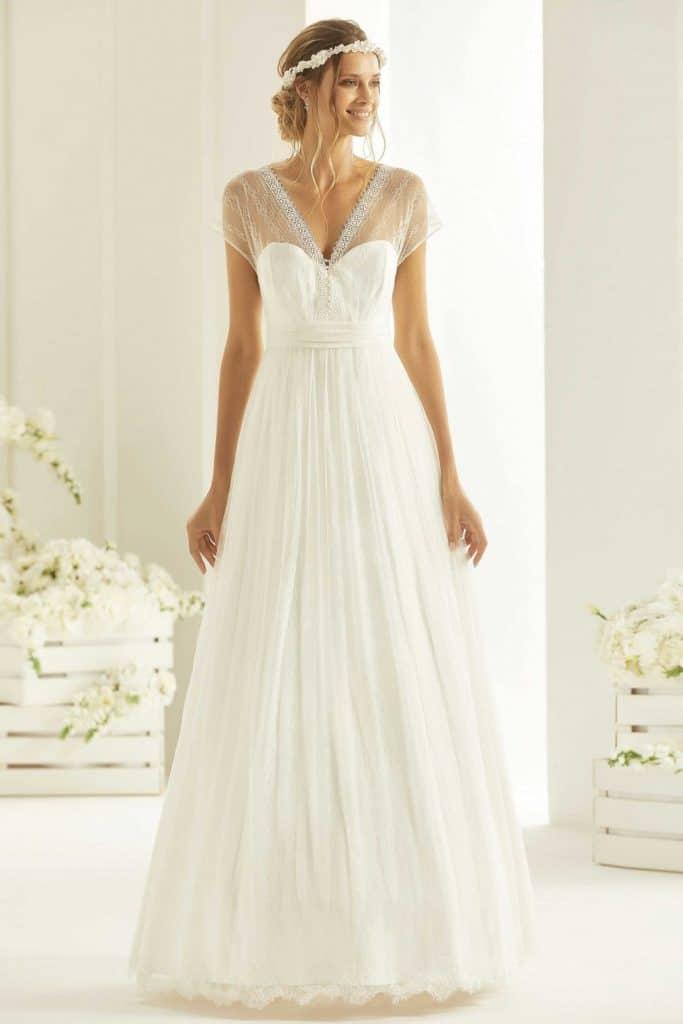 Brautmode Bianco Evento | Brautkleid Cosma