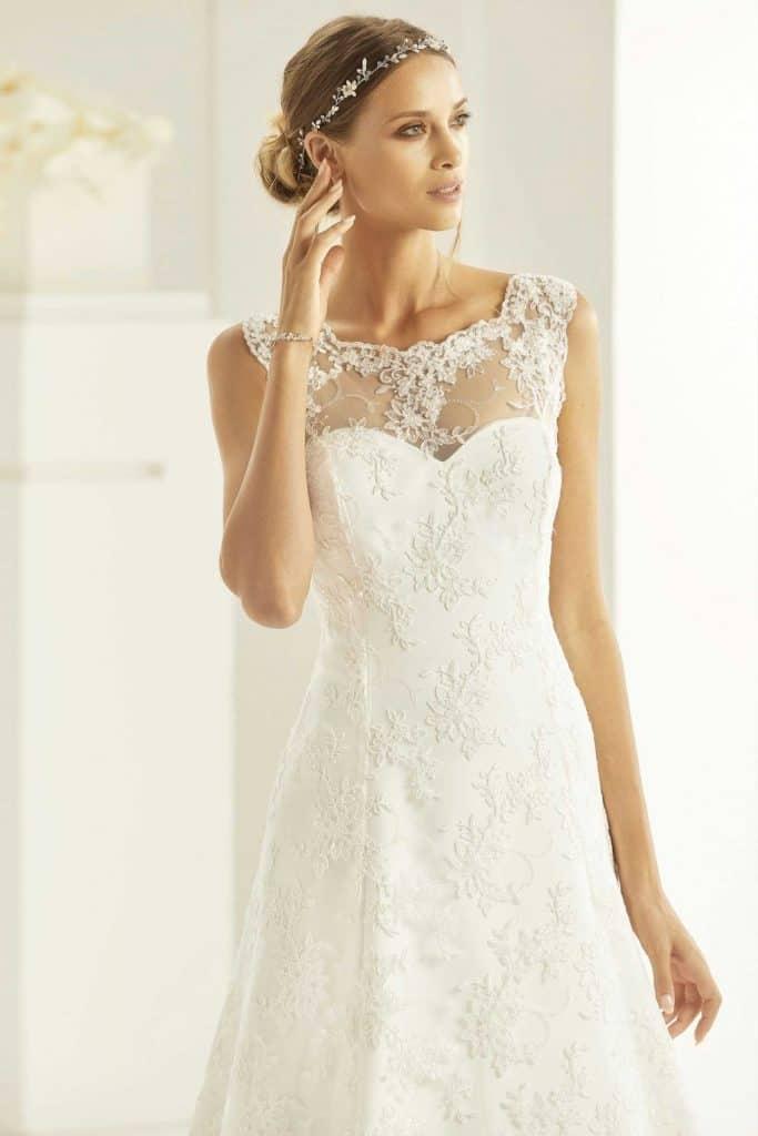 Brautmode Bianco Evento |Brautkleid Sabrina