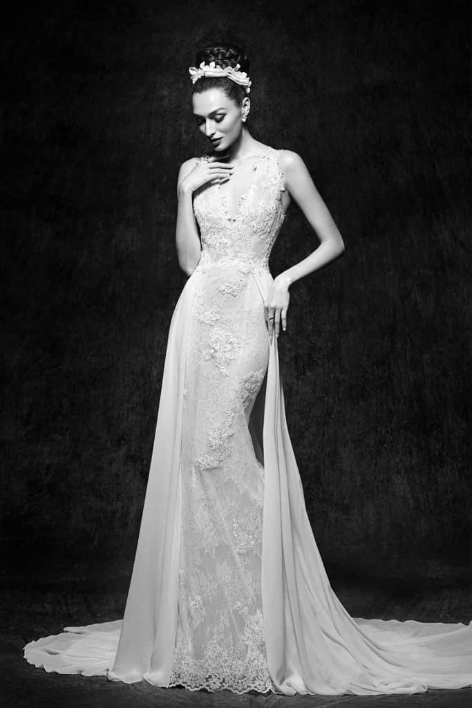 Brautmode Lusan Mandongus |Brautkleid Ginny