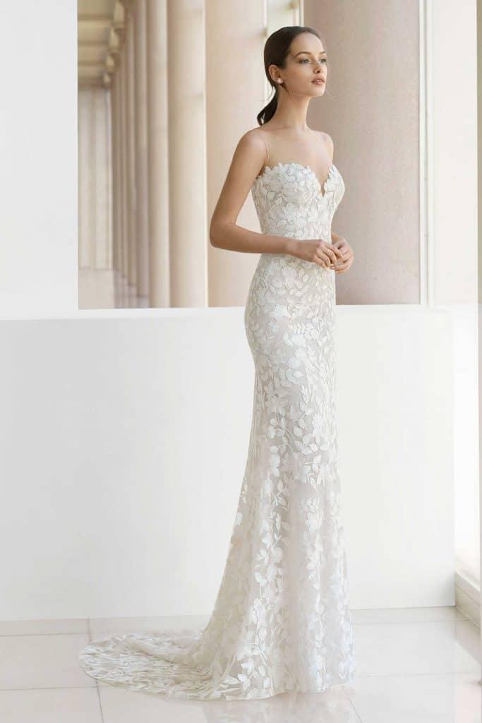 Brautmode Rosa Clara Soft | Brautkleid Kayl