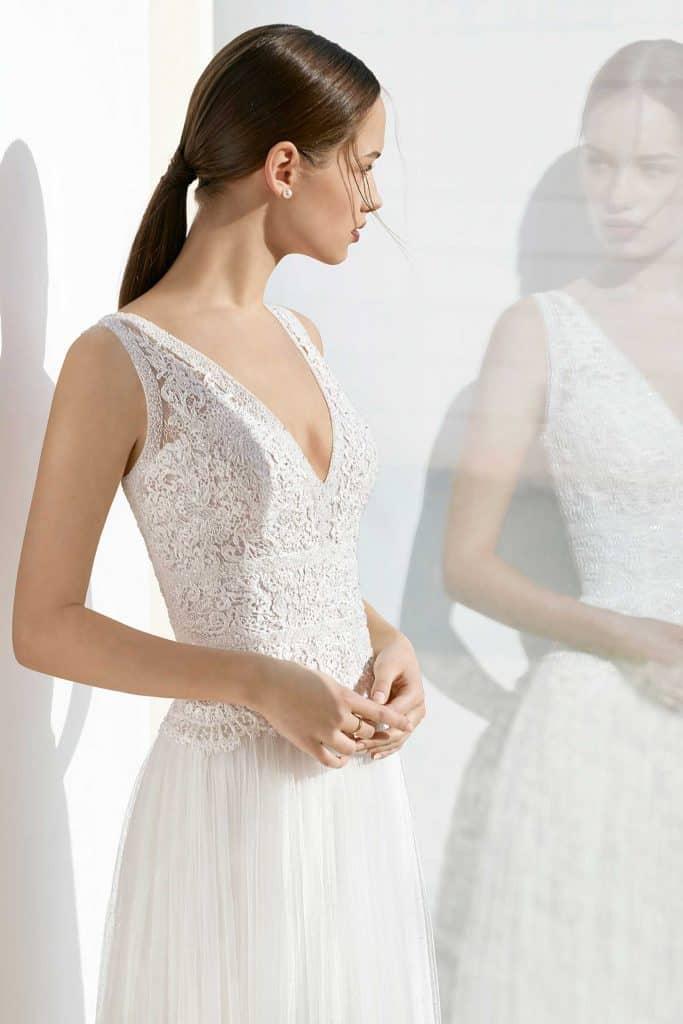 Brautmode Rosa Clara Soft | Brautkleid Kesava