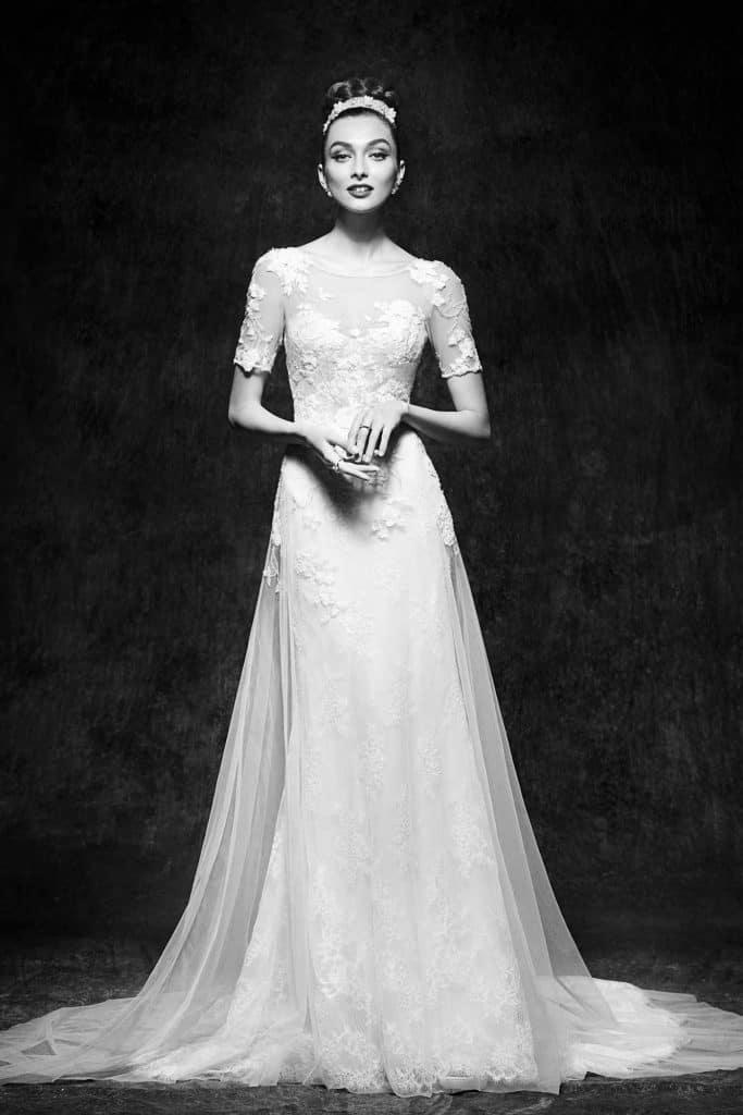 Brautmode Lusan Mandongus | Brautkleid Verena
