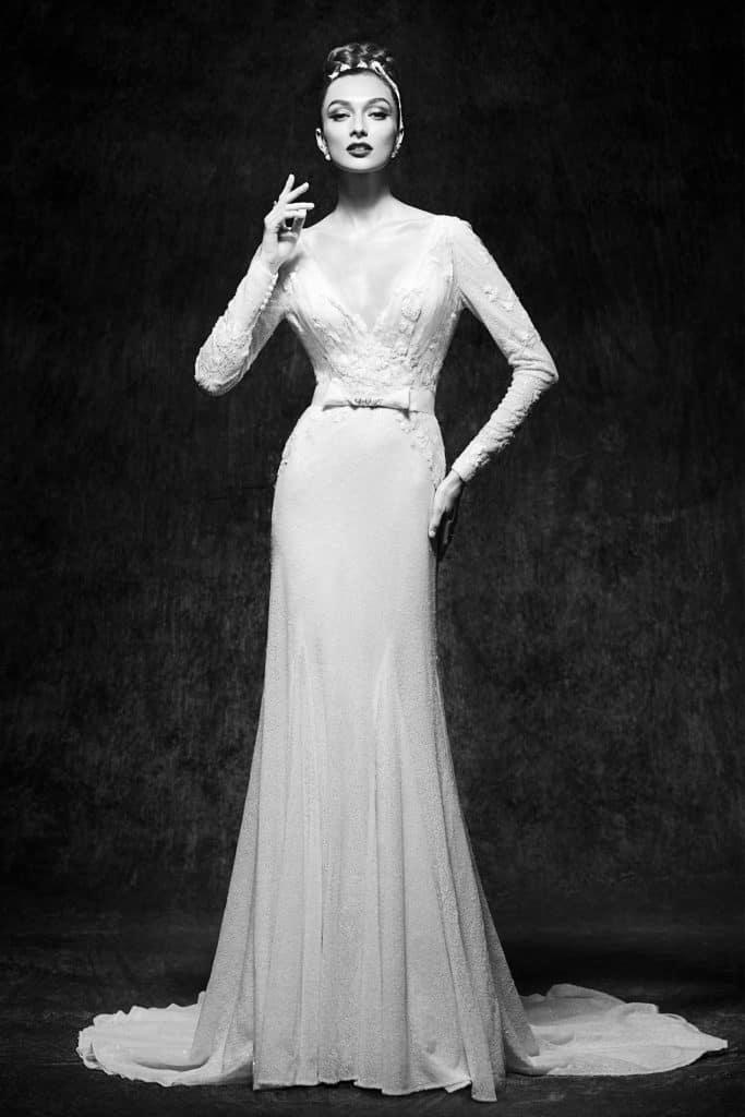 Brautmode Lusan Mandongus | Brautkleid Viktorie