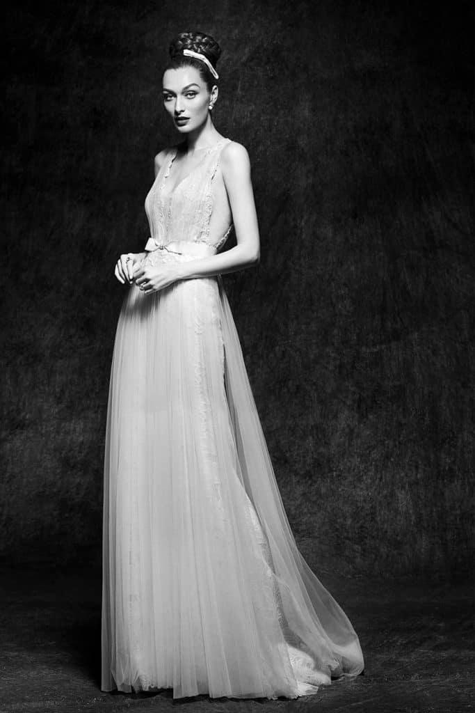 Brautmode Lusan Mandongus | Brautkleid Viveca