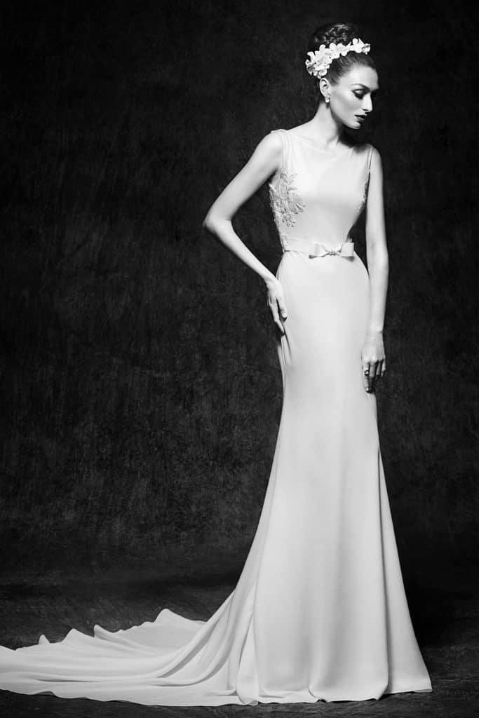 Brautmode Lusan Mandongus | Brautkleid Viviana