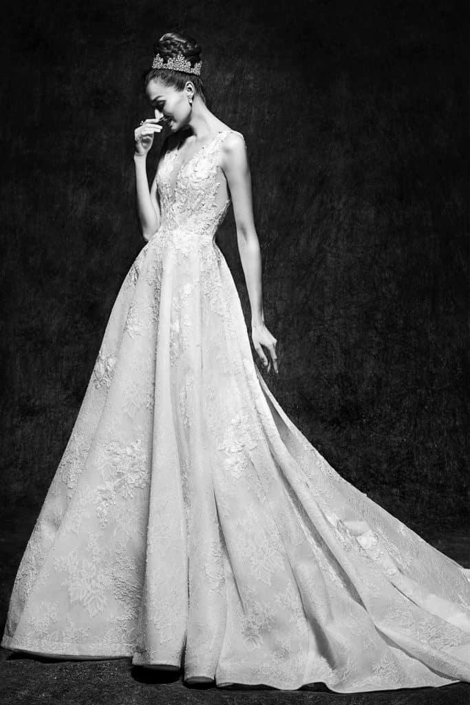 Brautmode Lusan Mandongus | Brautkleid Vivienne