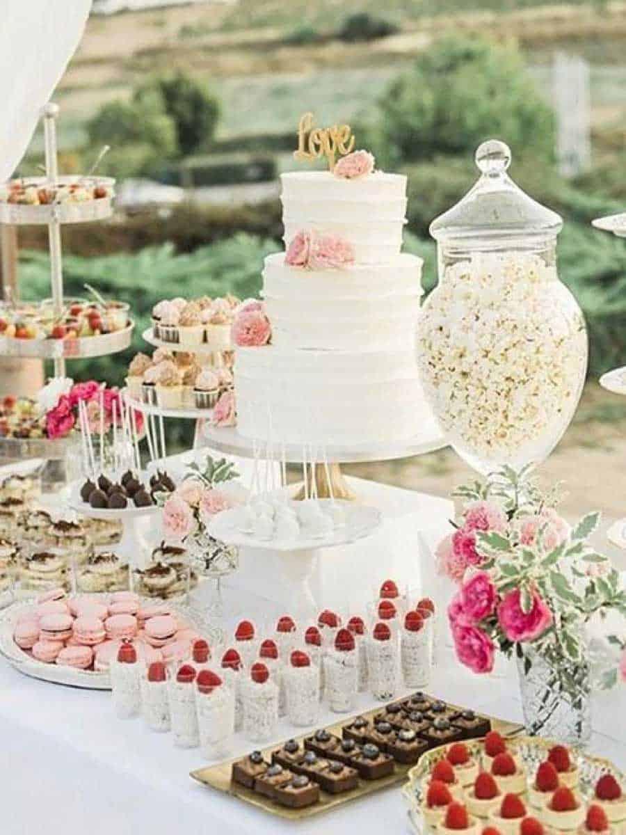 """Hochzeits-Blog """"Unvergessliche Hochzeit Candybar 1"""""""