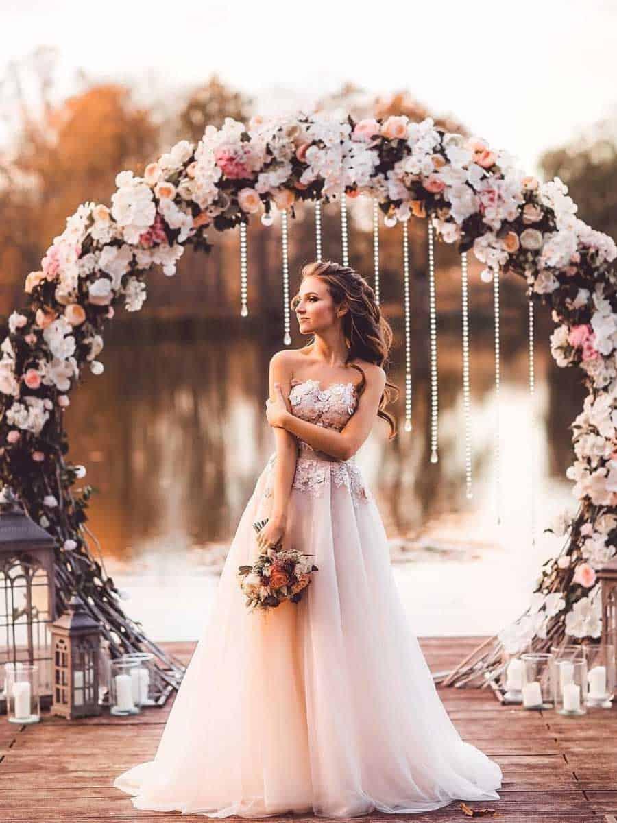 """Hochzeits-Blog """"Unvergessliche Hochzeit Blumendekoration 3"""""""
