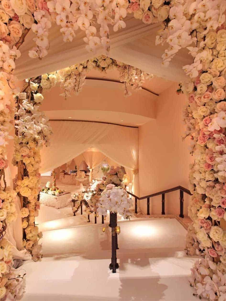 """Hochzeits-Blog """"Unvergessliche Hochzeit Blumendekoration"""""""