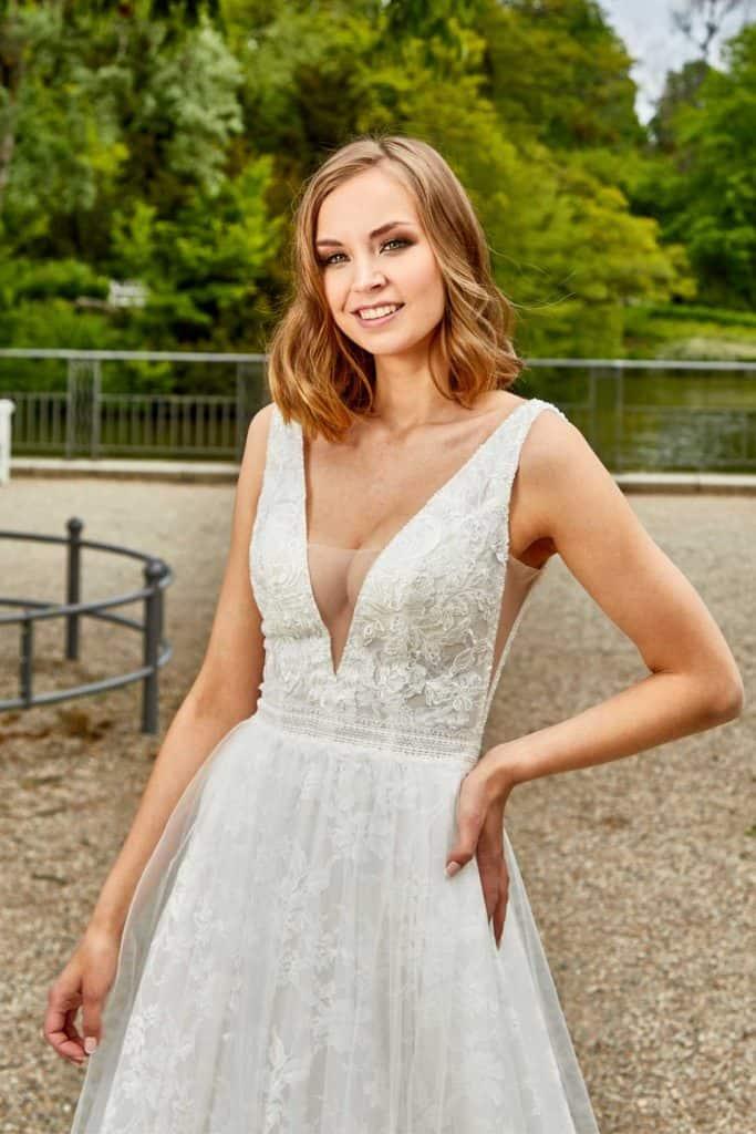 Brautmode Lisa Donetti | Brautkleid 2051