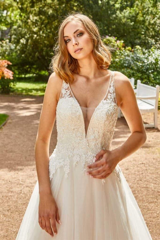 Brautmode Lisa Donetti | Brautkleid 2070