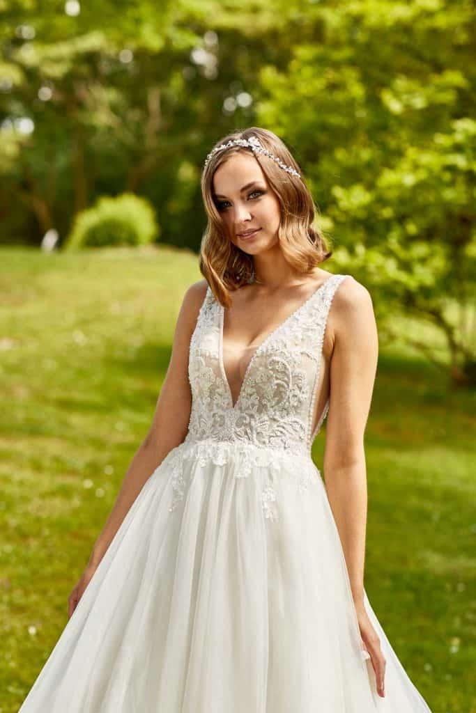 Brautmode Lisa Donetti | Brautkleid 2076