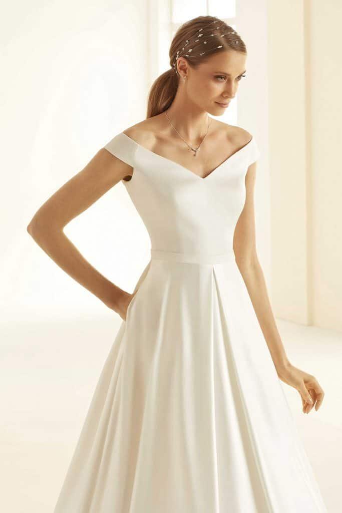 Brautmode Bianco Evento |Brautkleid Esmeralda