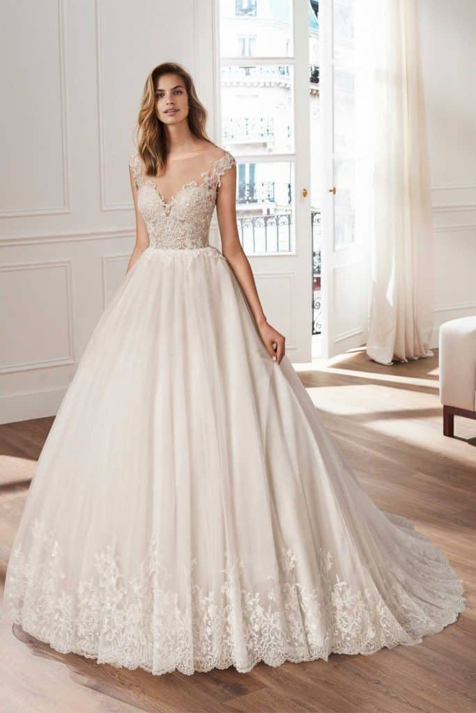 Brautmode Luna Novias | Brautkleid Helois