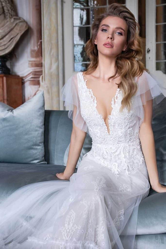 Brautmode Daria Karlozi | Brautkleid 8111