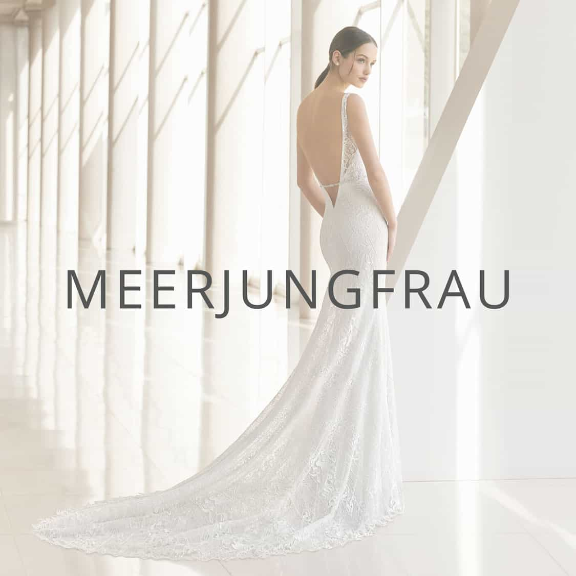 "Brautmoden Düsseldorf Kollektion ""Meerjungfrau"""