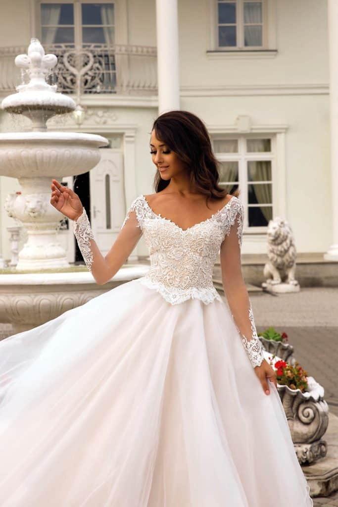 Brautmode Tina Valerdi | Brautkleid Claudia